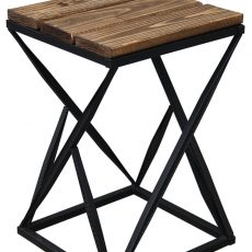 Мебель в стиле лофт Табурет_002