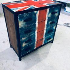 Мебель в стиле фото-брит-комод
