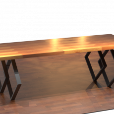 Мебель в стиле лофт Журнальный столик Loft 26