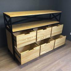 Мебель в стиле лофт Комод Loft 15